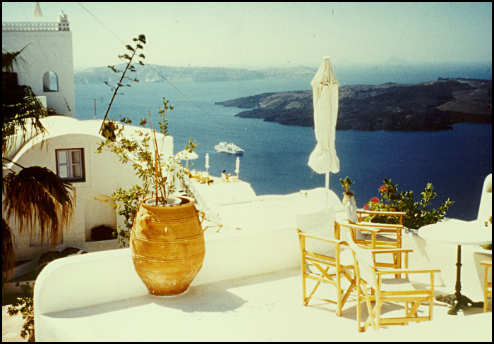 Santorini Patio